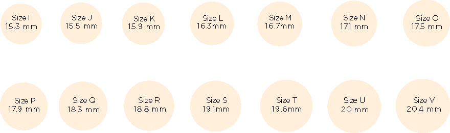 Ring Size Guide Niomo