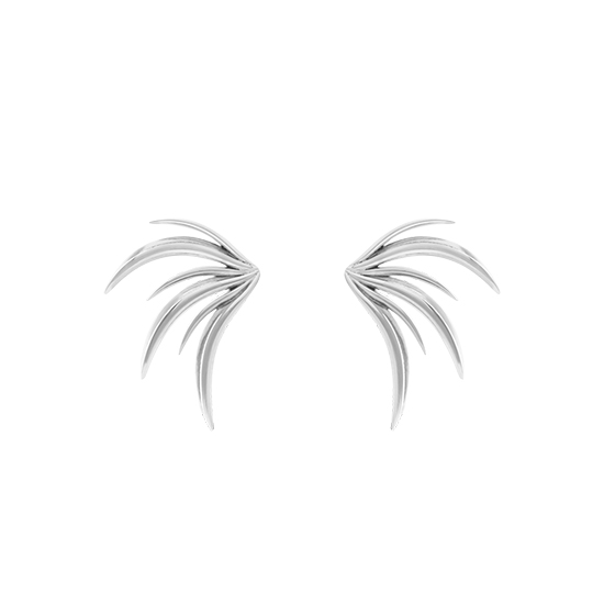 Attalea Earrings Silver
