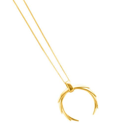 Butia Necklace Gold