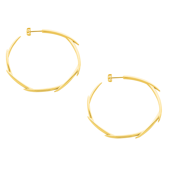 Brahea Hoops Large Gold