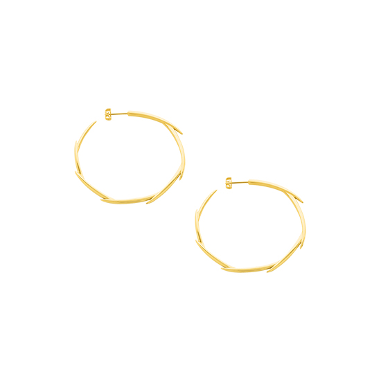 Brahea Hoops Small Gold