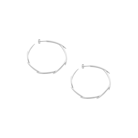 Brahea Hoops Small Silver