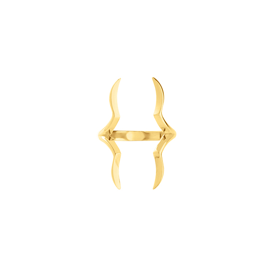 Zamia Ring Gold